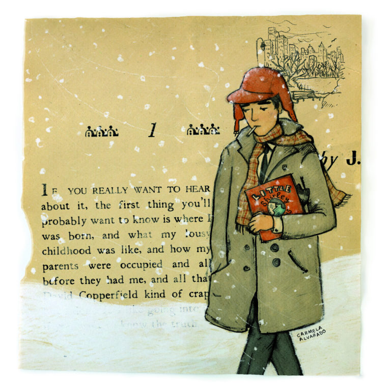 a look at the character of holden caufield in catcher in the rye Holden's 10 -year-old sister character analysis holden caulfield when he bares his soul to tell her of his dream of being the catcher in the rye, she is.